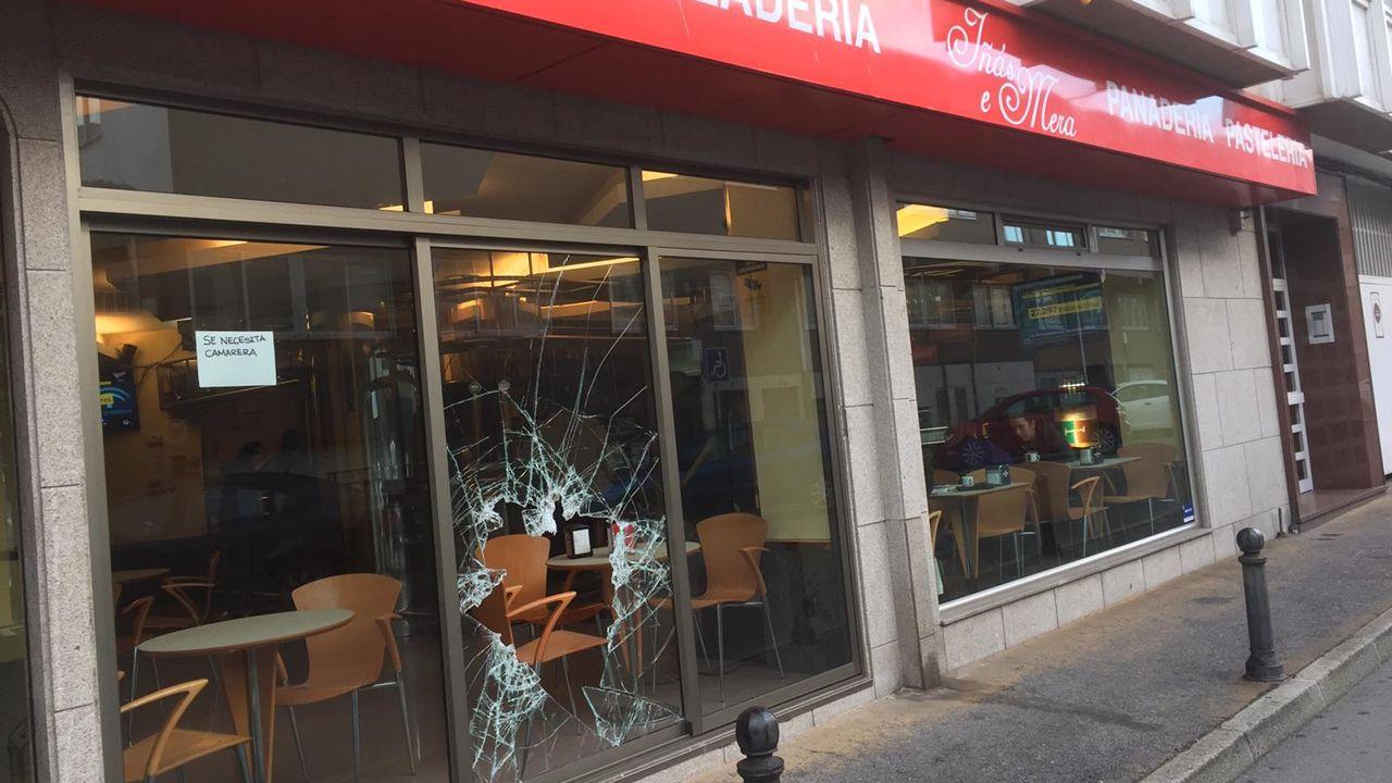 Cuarto robo en la cafetería Iñas y Mera de Santa Cristina