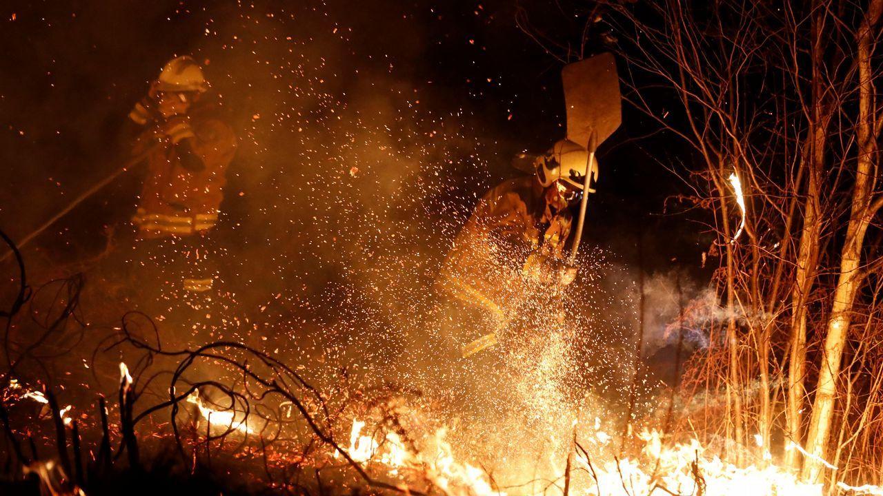 Acrilamida: 8 consejos para evitarla.Los bomberos intentan sofocar el incendio que se ha producido hoy en los alrededores de Labares