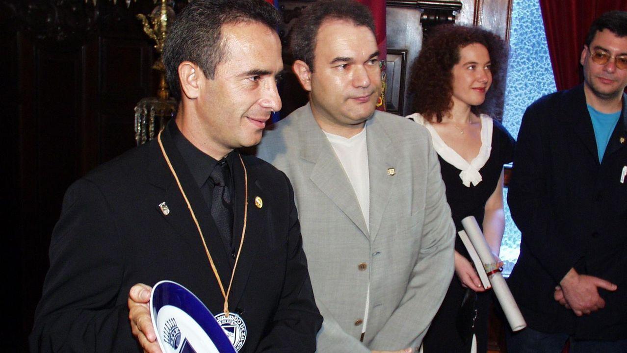Antonio Fernández Veiga, en una foto de archivo de cuando era concejal de Obras, Economía y Hacienda