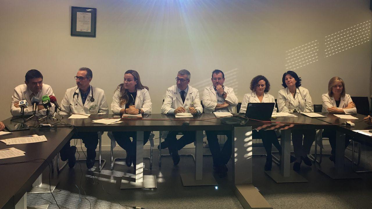 .Presentación del plan de contingencia frente a la gripe en el Chuac