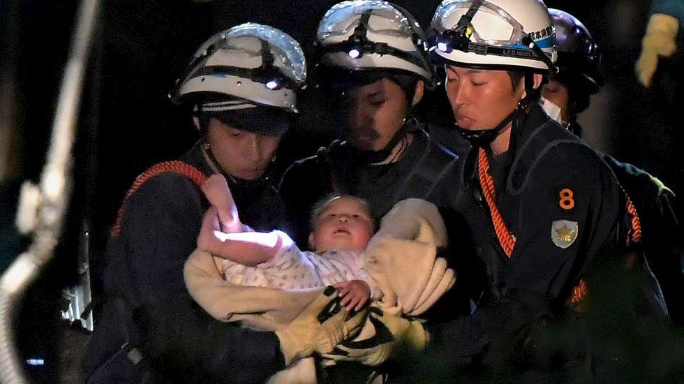 Milagro bajo los escombros de Japón.Junko Tabei