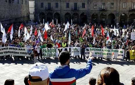 Políticos, sindicalistas y varios sectores del país apoyaron al vecindario de la zona.