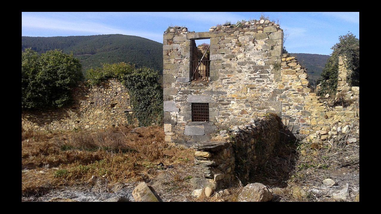 Diego de Guzmán visitó la antigua abadía de San Clodio de Ribas de Sil, de la que hoy solo quedan unos pocos restos