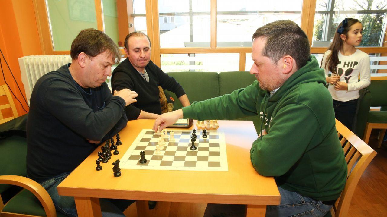 .Torneo de ajedrez organizado por el club O Toque Xiria