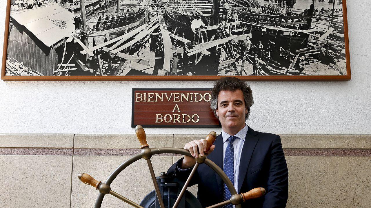 Marcos Freire: «La innovación es un aspecto clave en la recuperación del sector naval».Simposio sobre ciencias marinas