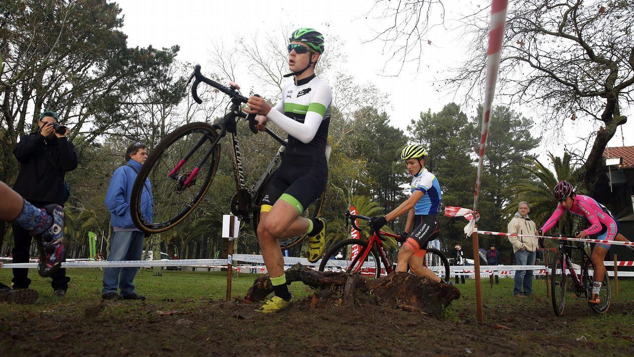 ¡Así se vivió la Copa Galicia de Ciclocross en Praia Xardín!