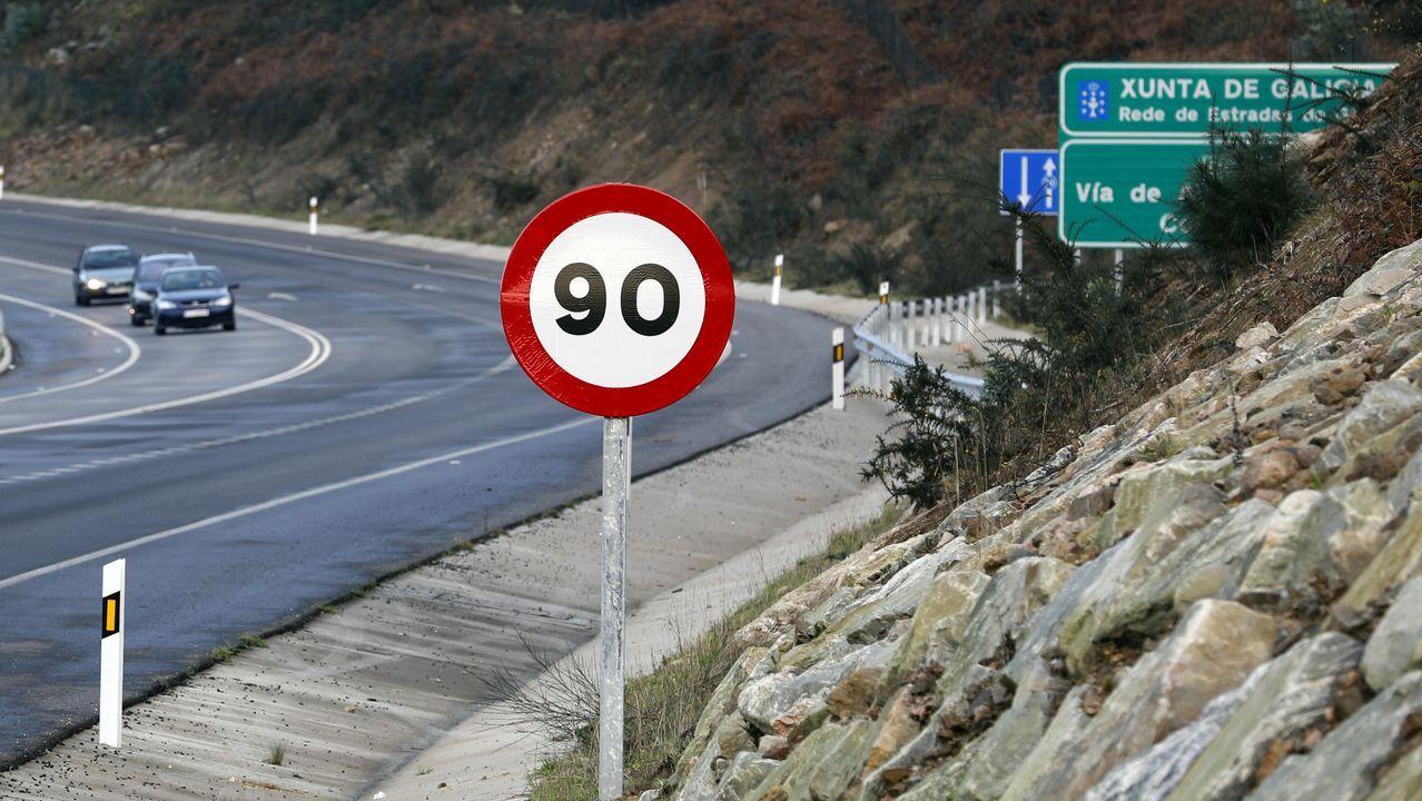 Cambian el límite de velocidad a 90 en el corredor