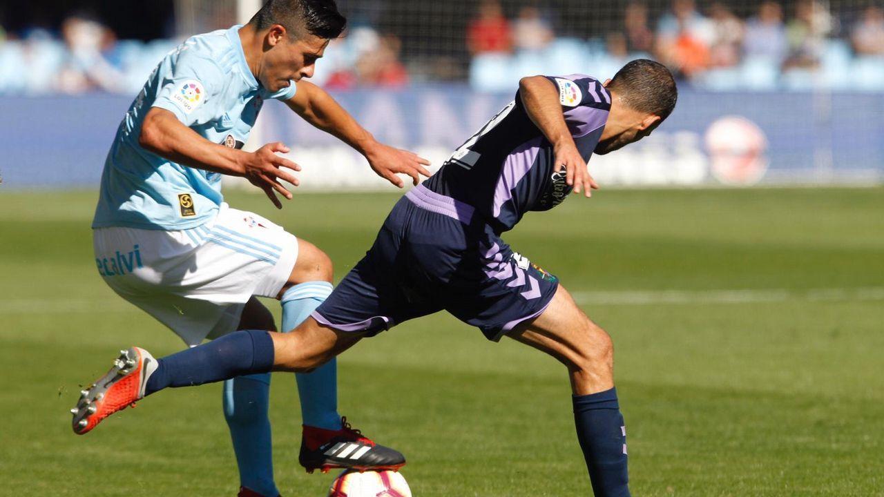 El Celta - Valladolid, en fotos.