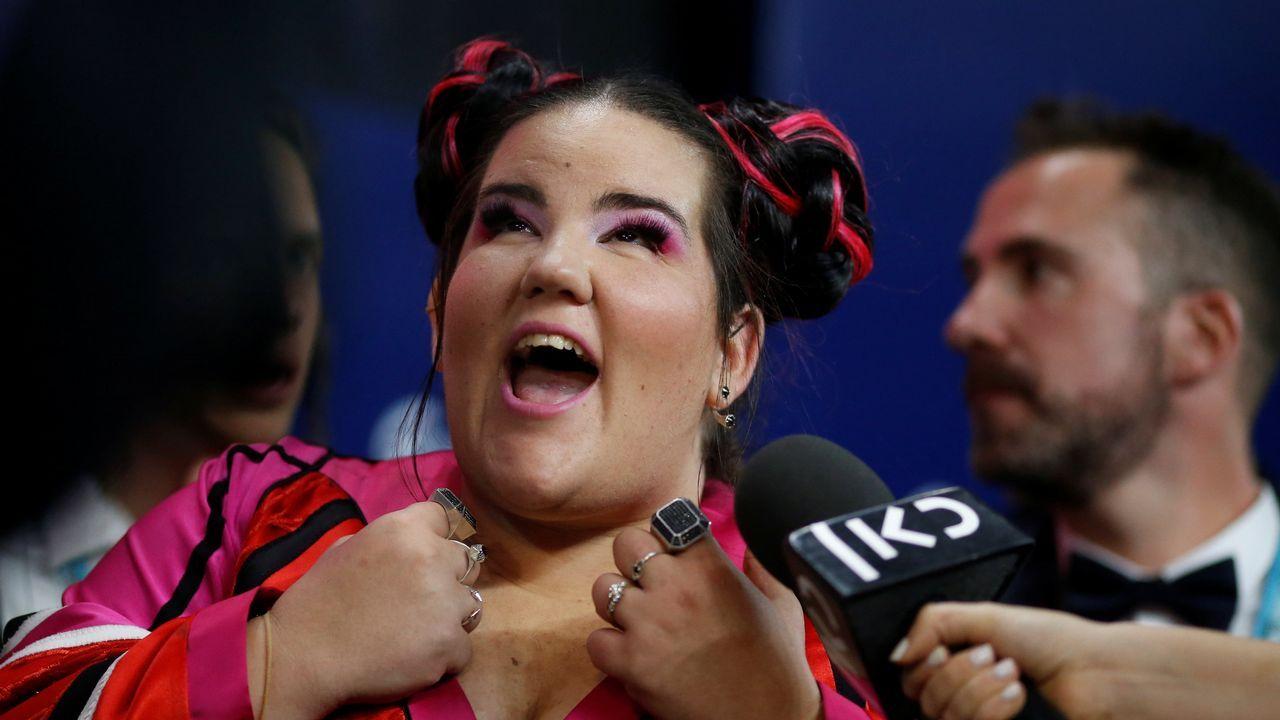 El triunfo de Netta en Eurovisión, en fotos