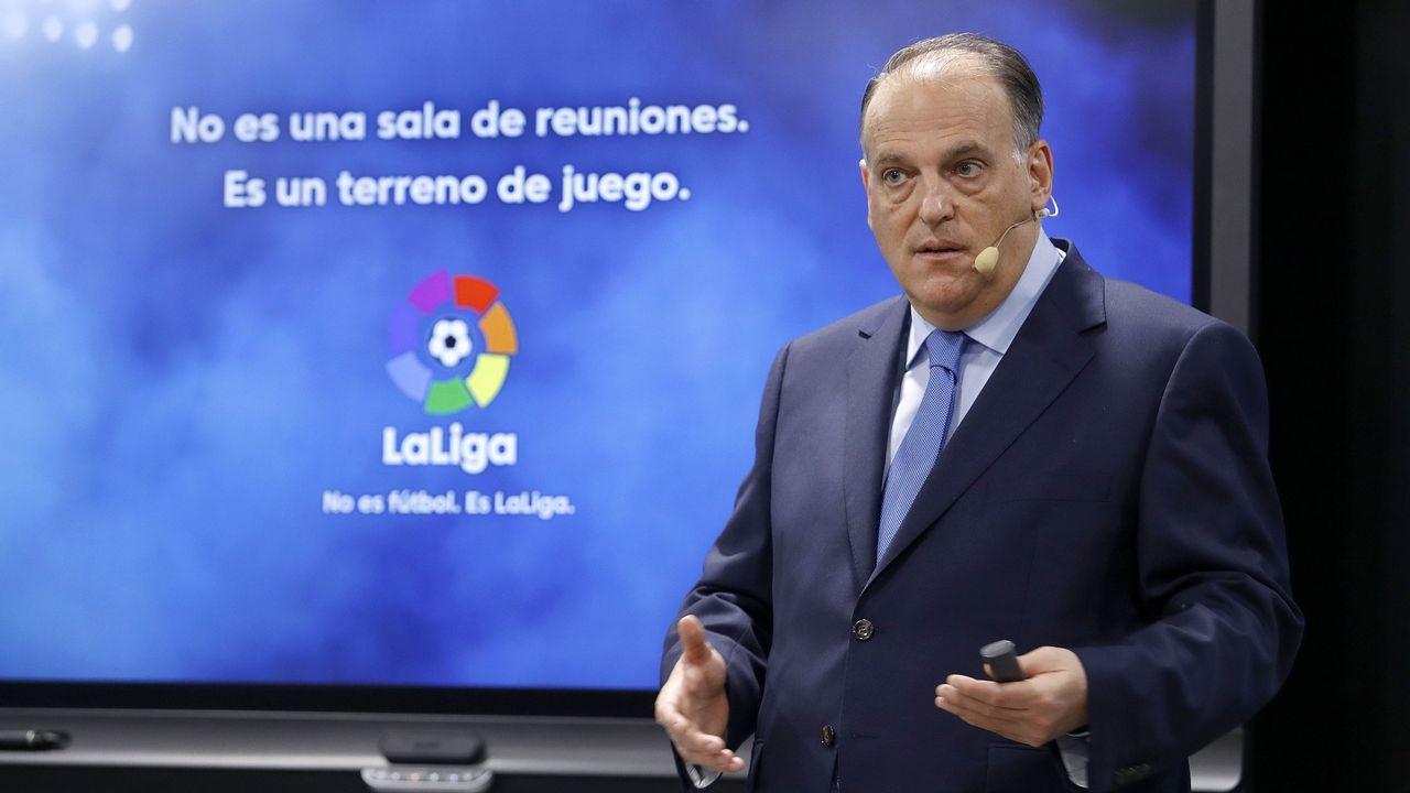 Carlos Tartiere Horizontal.Miguel García, director legal de la RFEF