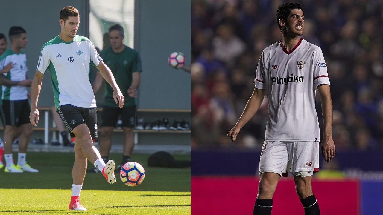 Las imágenes del Tenerife - Deportivo.Álex Alegría y Carlos Fernández, futuribles