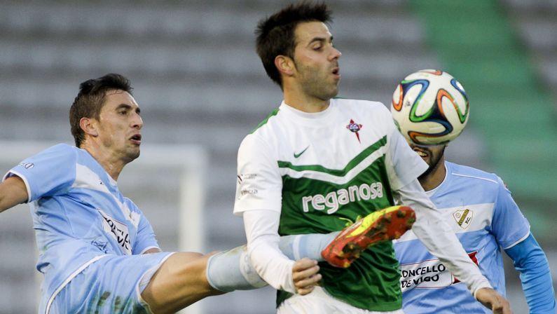 .Joselu lleva seis goles con el Racing de Ferrol en la liga