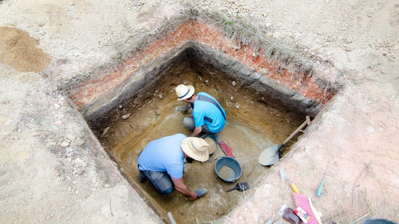 Así se vivió la «romería de los muertos» de Santa Marta de Ribarteme