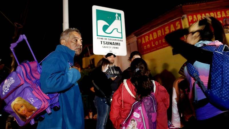Segunda evacuación en 24 horas en Chile.Angela Merkel