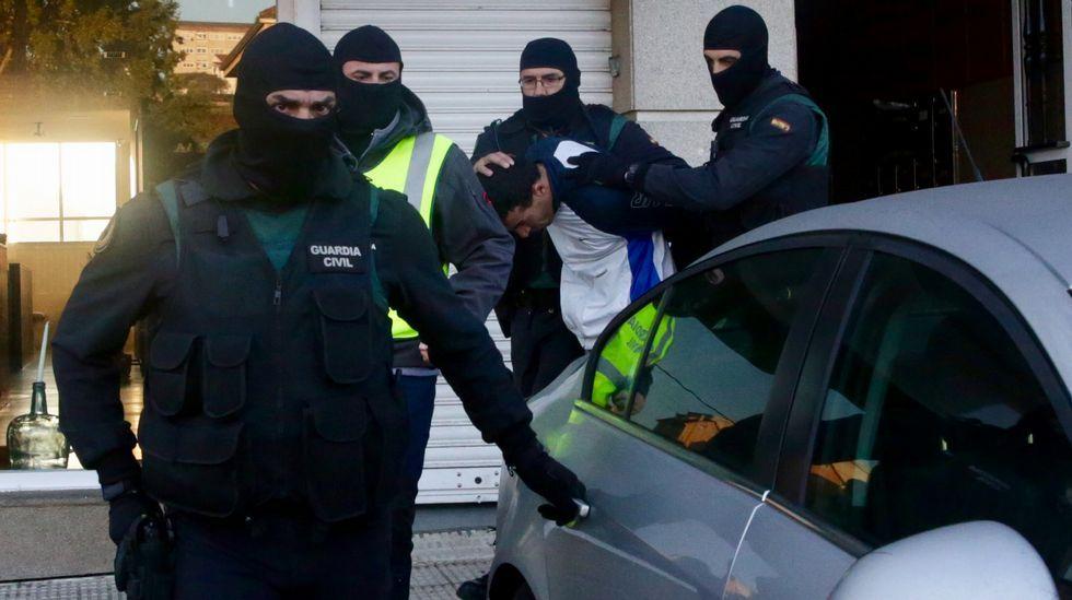 Detención de un presunto miembro del DAESH en Arteixo