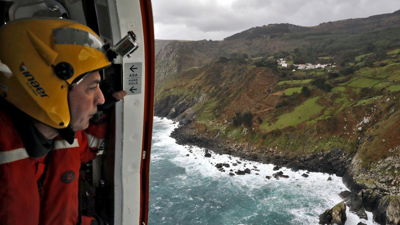 A bordo del Pesca2: así se realiza un rescate en alta mar.