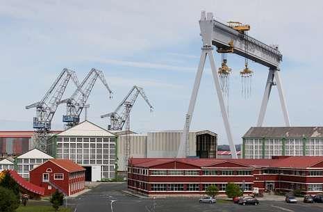 El astillero de Fene se quedará sin tarea en apenas unos días.