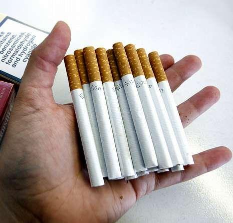 El tabaco crea adicción.