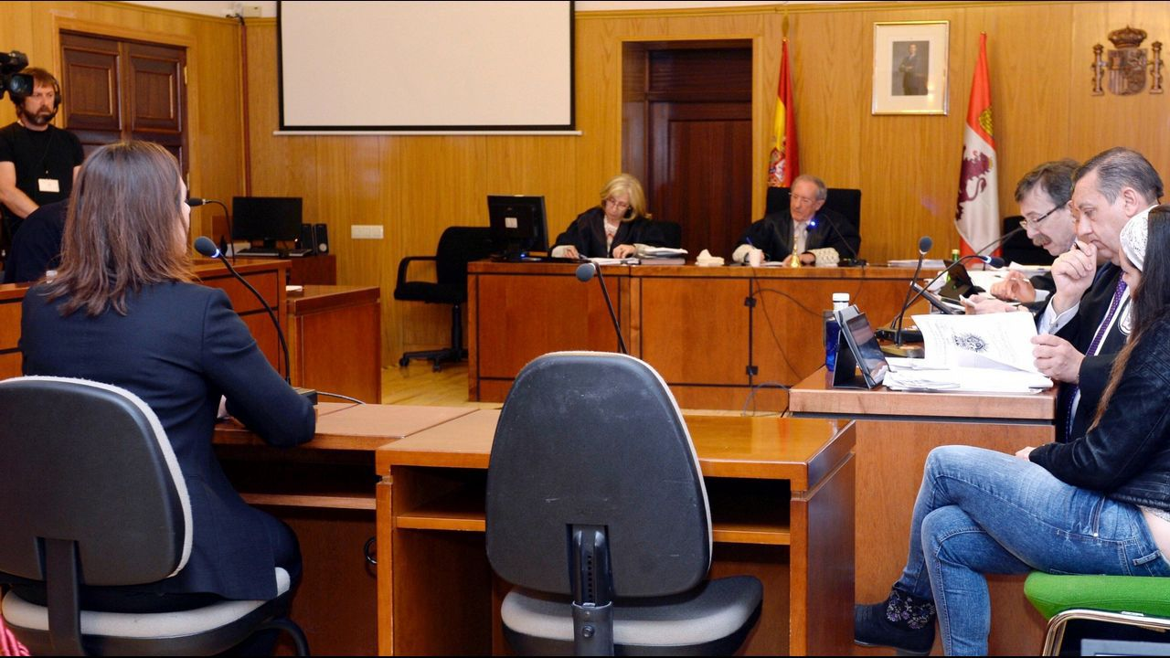 Imagen de archivo del desarrollo del juicio por el crimen de la pequeña Sara