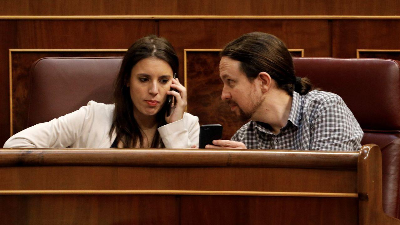 Alta tensión en el Congreso.El secretario general de Foro, Francisco Álvarez Cascos