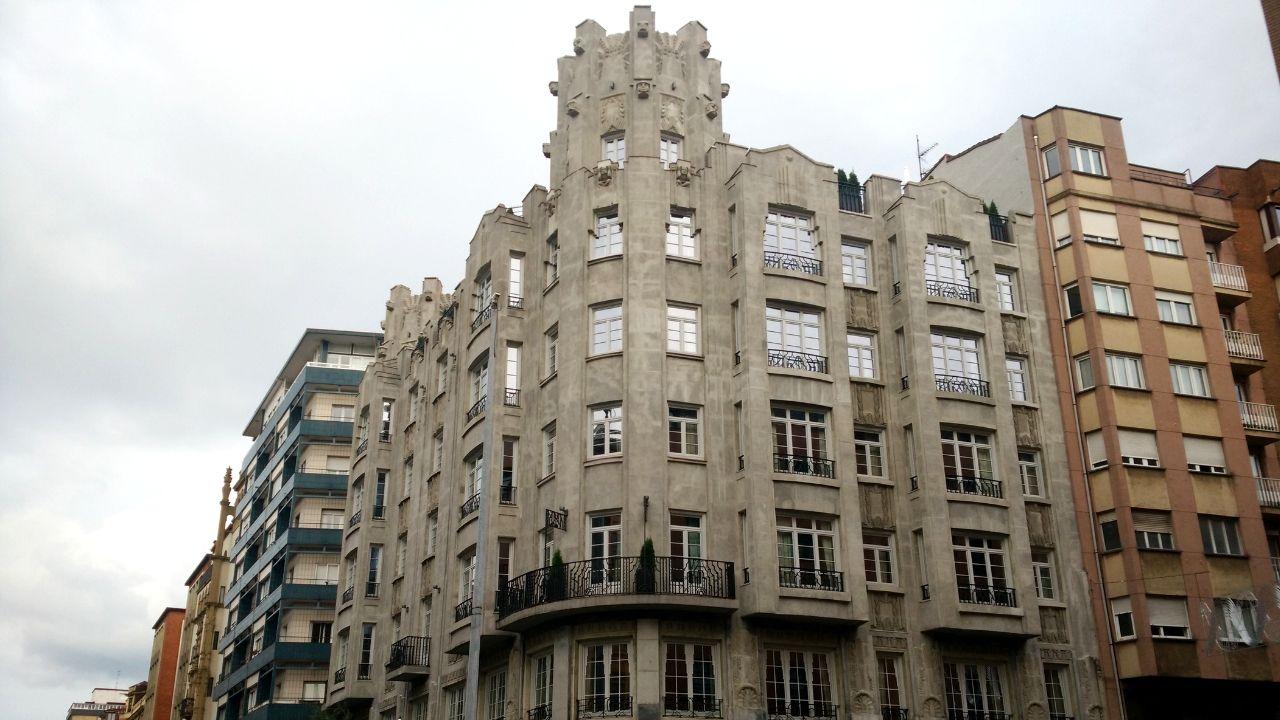 El edificio que albergará el nuevo hotel de cuatro estrellas