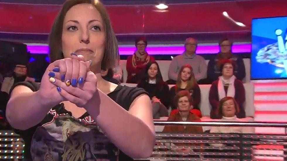 Cristina se quiere tatuar la gallina de «Ahora Caigo».Pablo Iglesias