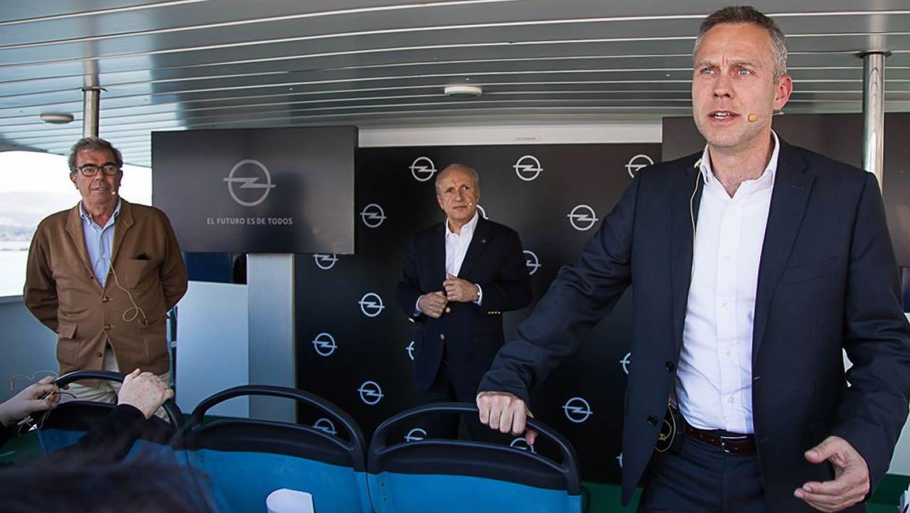 Así es el buque que construye Barreras en Vigo.Tomé es director general de la marca Opel para España y Portugal desde julio del año pasado