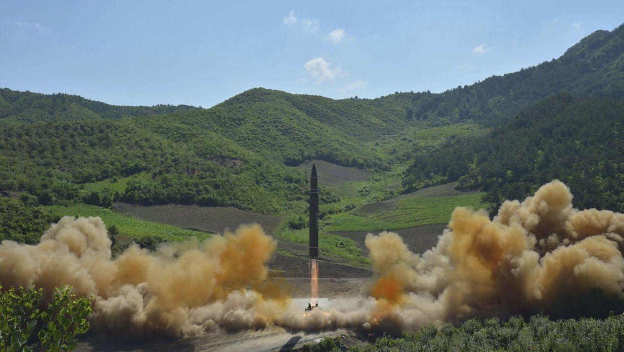 Así fue el lanzamiento del misil norcoreano