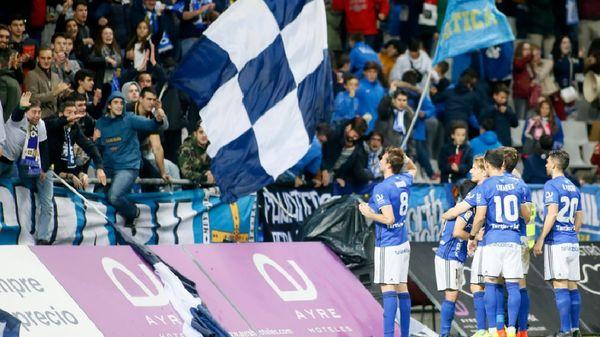 Michu celebra su gol ante el Levante