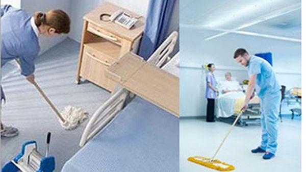 Limpieza en hospitales