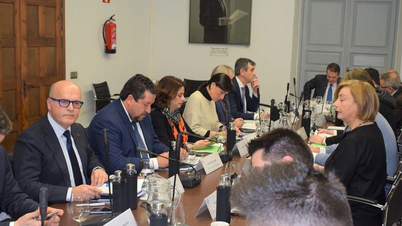 Miembros del Parlamento Europeo durante la votación del miércoles