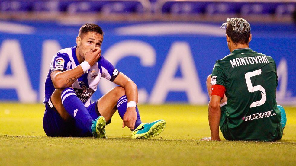 El Deportivo-Leganés, en fotos.