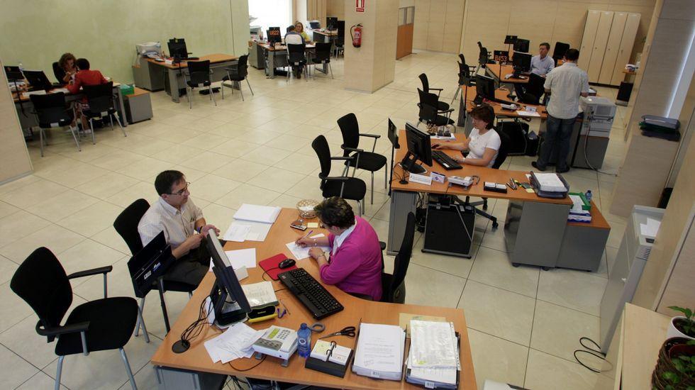 Tesorería de la Seguridad Social en Santiago.