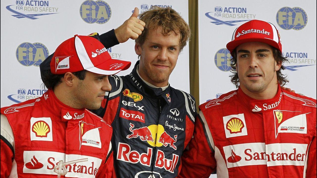 .La irrupción de Vettel y los Red Bull en 2011 cambió las hegemonías en la F1