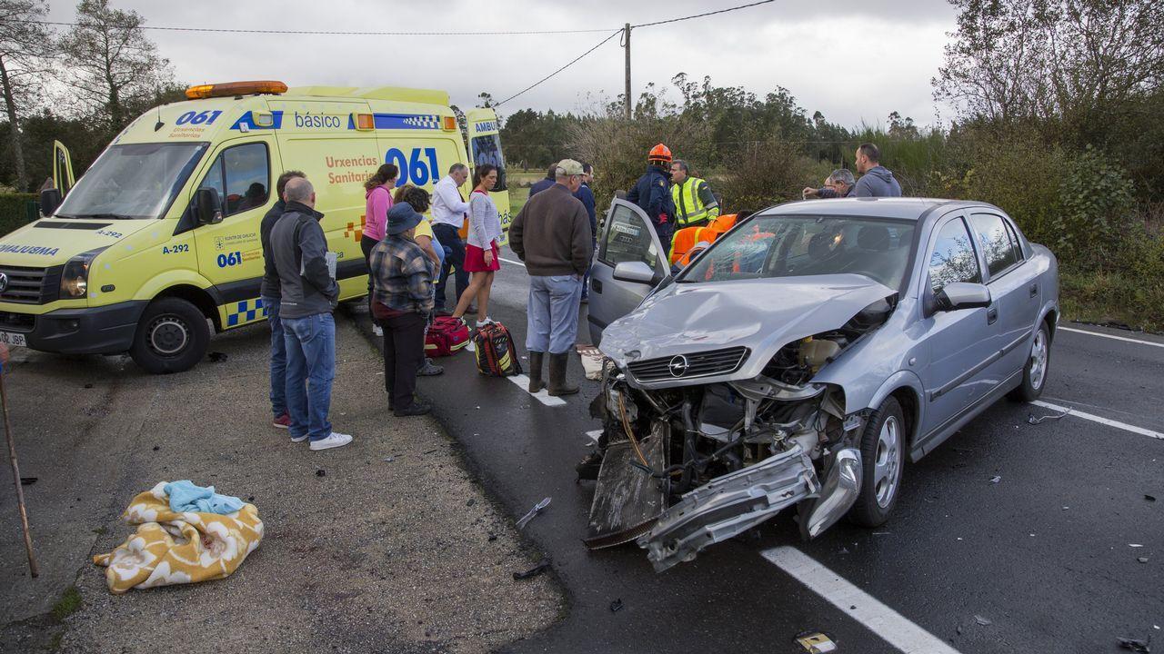 Herido grave en Alborín en un choque entre dos vehículos
