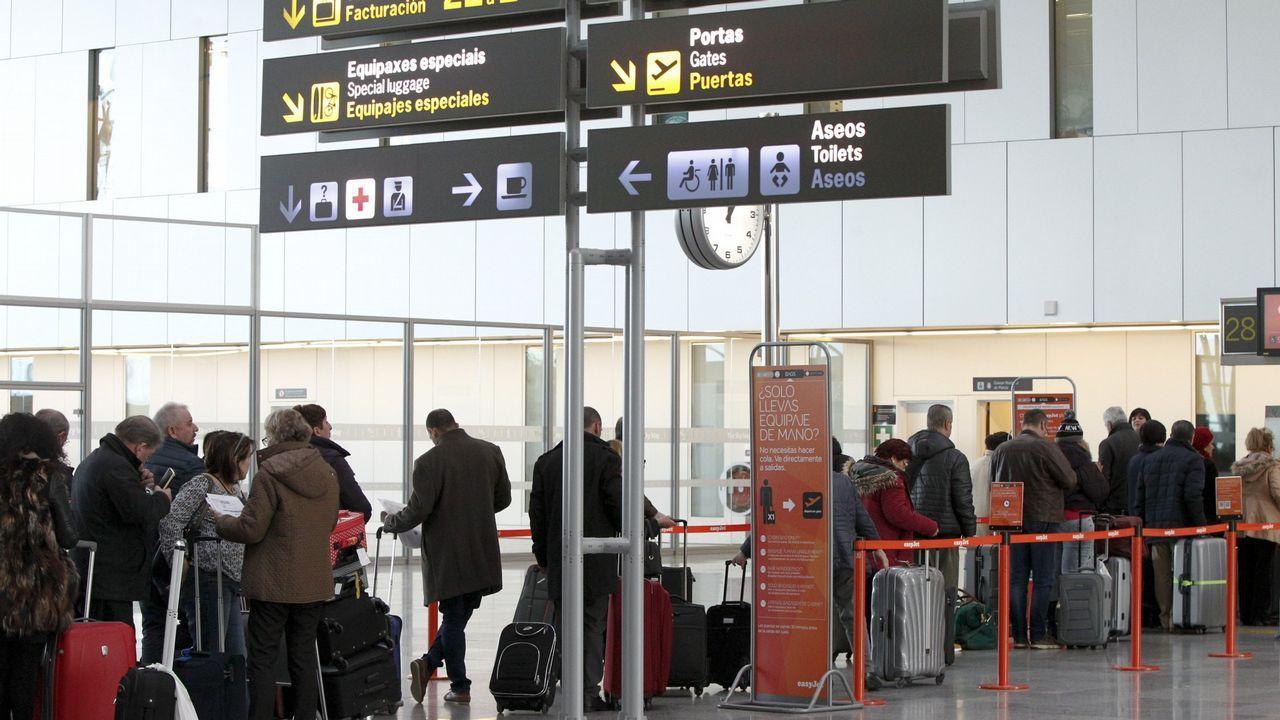 .La terminal de Lavacolla alcanza un nuevo récord