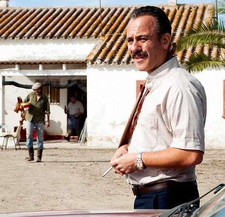 El personaje de Gutiérrez emprende en la película un viaje de redención.