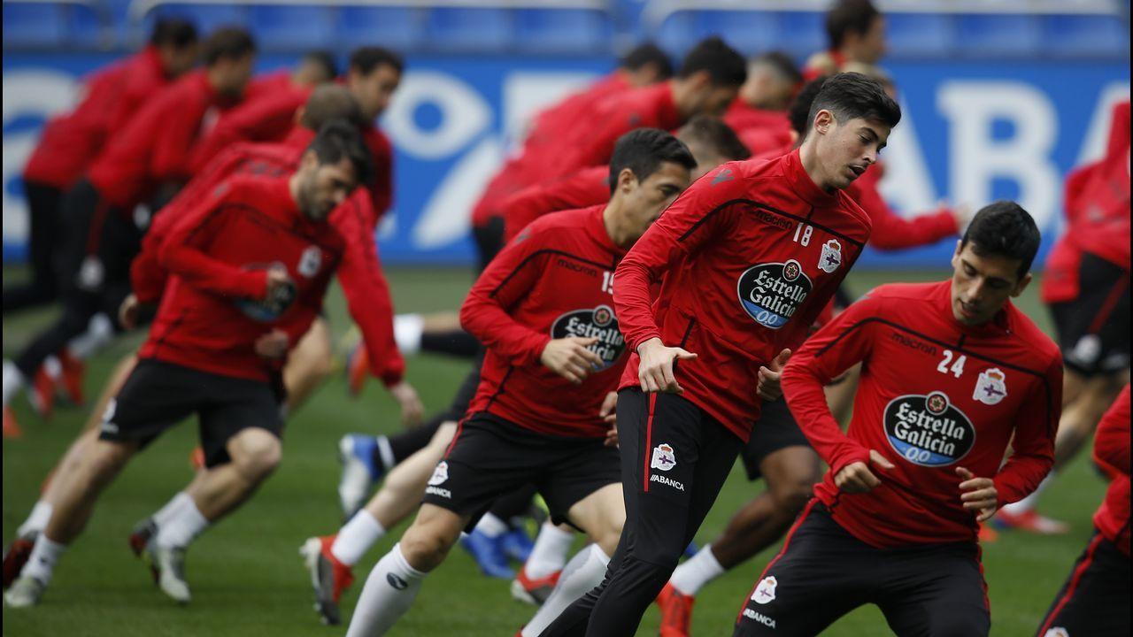 Las mejores imágenes del Deportivo - Alcorcón.Caballo destaca que, pese a la falta de gol, el Dépor nunca se ha echado atrás