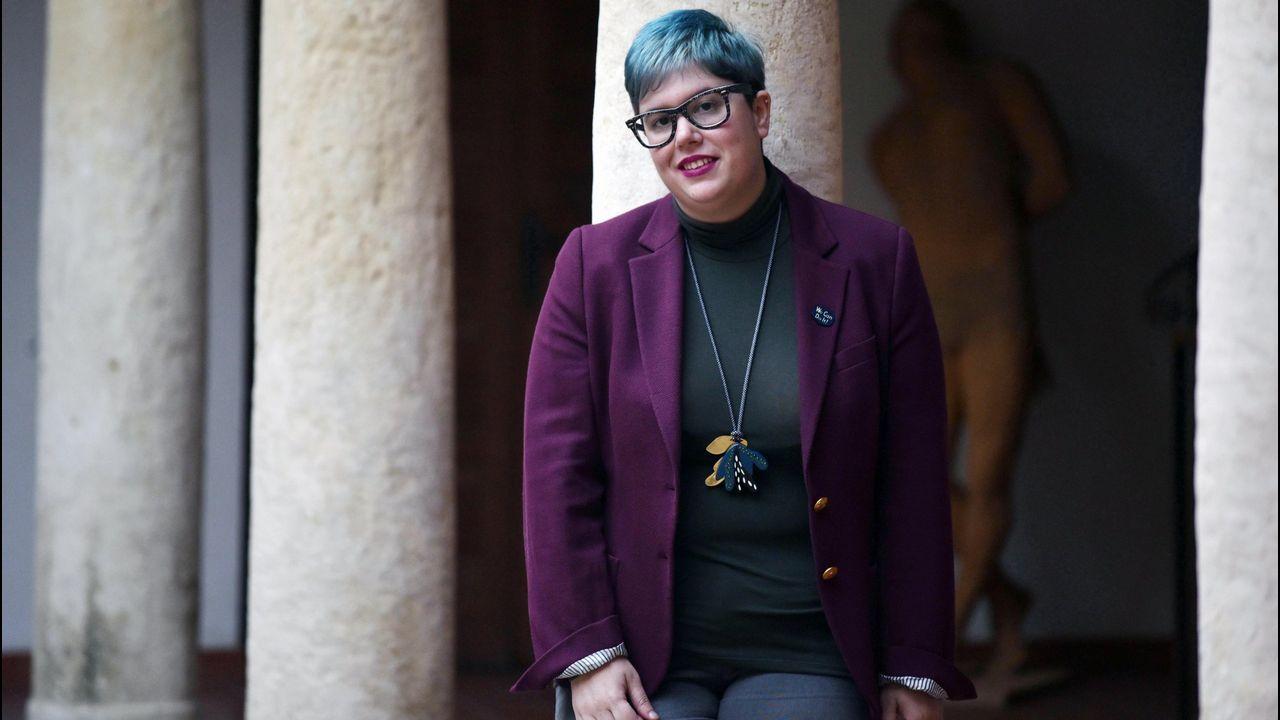 La escritora Alba Carballal