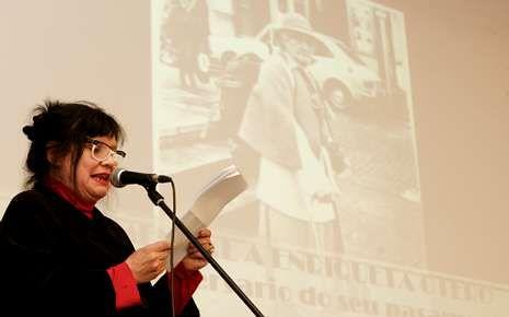 En Lugo hubo un acto de homenaje a Enriqueta Otero.