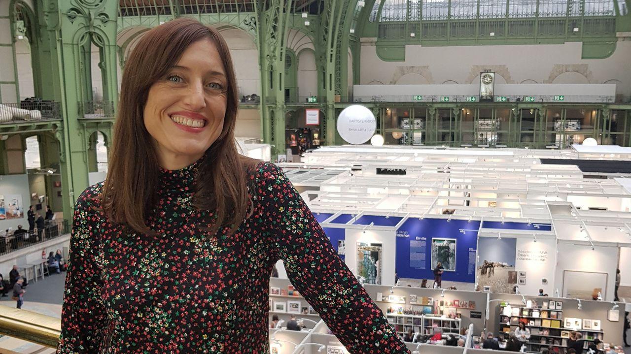 Ana Amado, en el Gran Palais, donde durante los últimos días se celebró el festival Paris Photo
