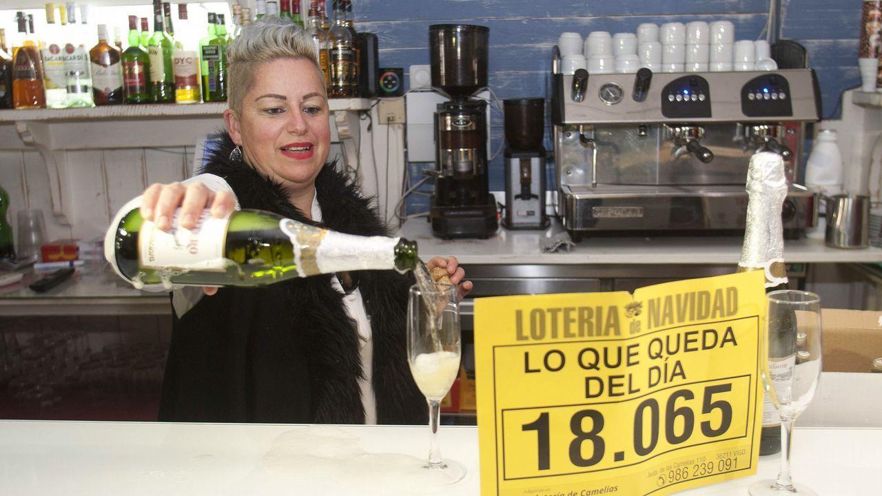 Quinto premio de la Lotería Nacional vendidpo en el restaurante «Lo que queda del día» en Salvaterra do Miño.