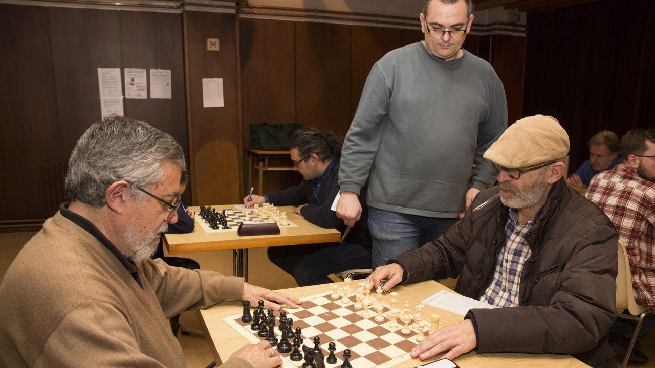 Medio centenar de ajedrecistas de primer nivel se citan en Carballo