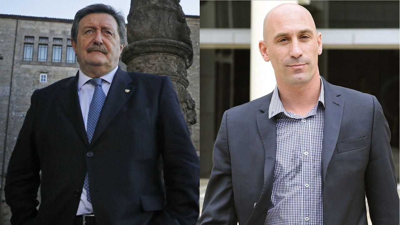 Larrea y Rubiales se disputan la presidencia de la RFEF