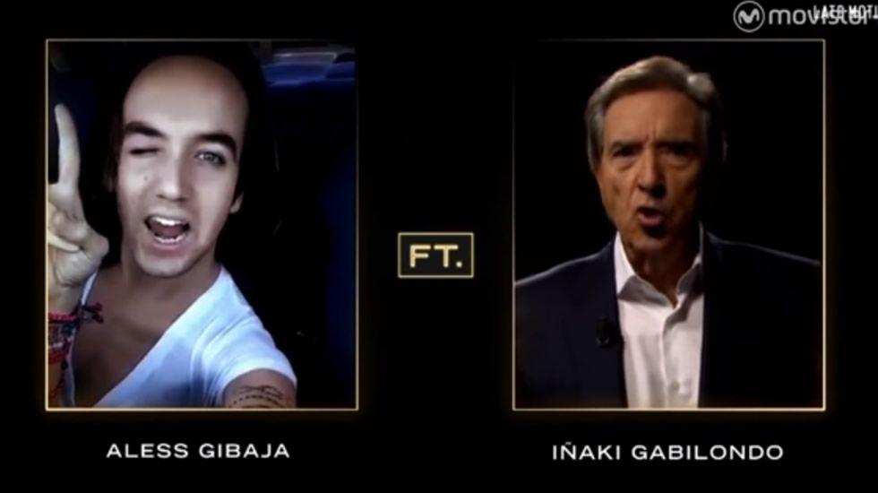 Así imitó Iñaki Gabilondo a Aless Gibaja.Homenaje en Atocha a las víctimas del 11-M