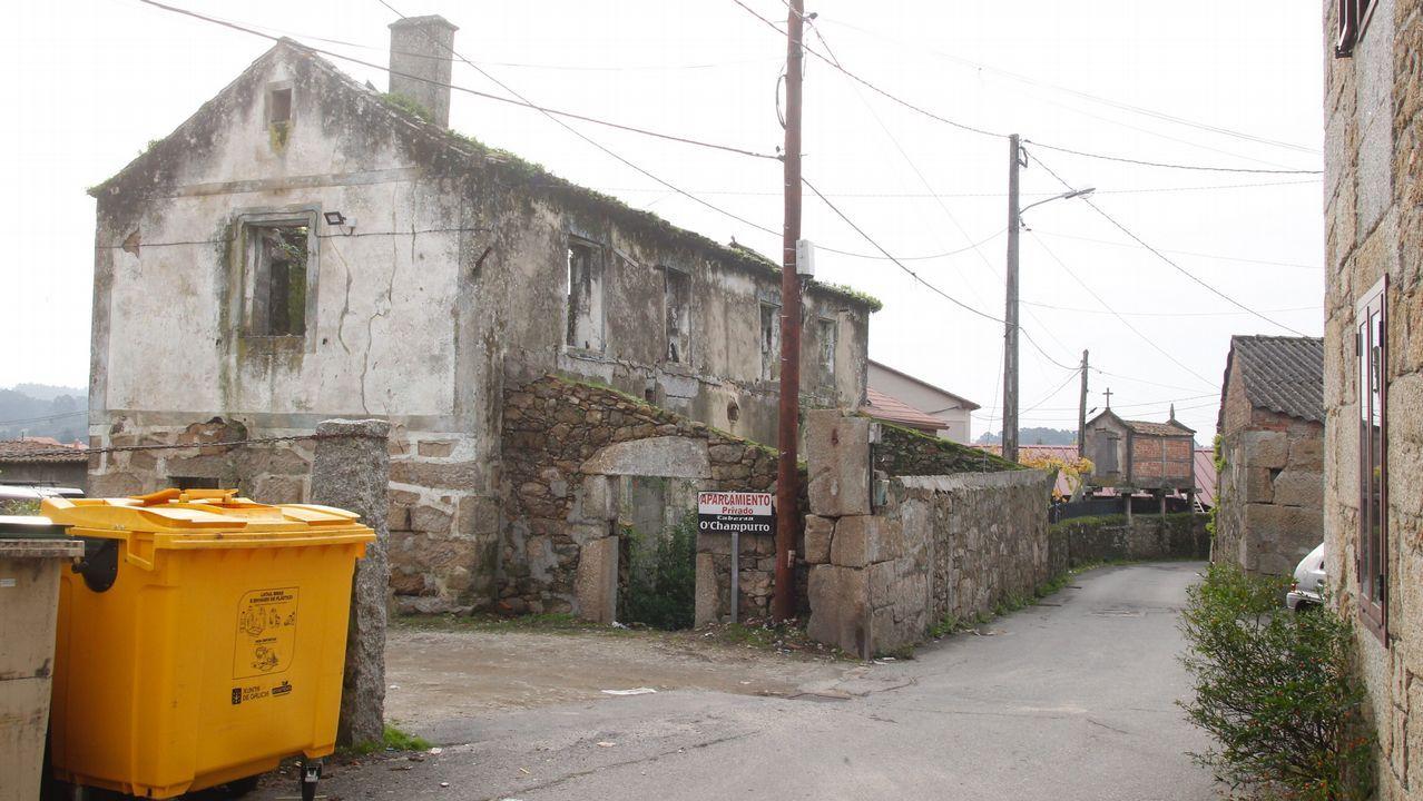 Así fueron las detenciones de los narcos de Pontevedra.Una pistola