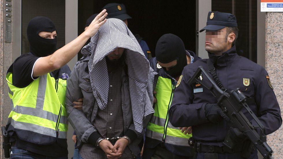 Detenido en Gijón un yihadista que estaba integrado en el Daesh