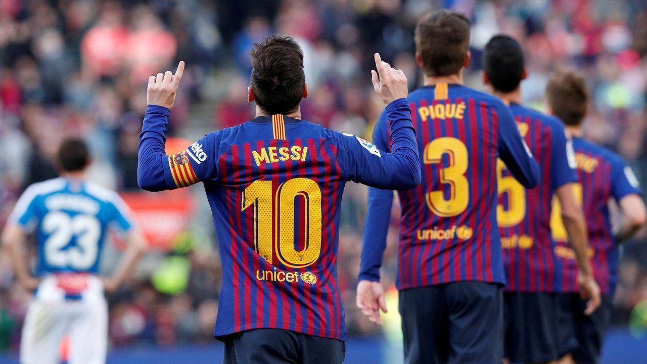 Leo Messi en una imagen de archivo