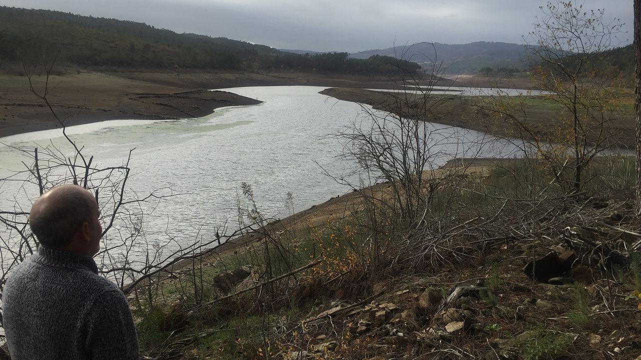 En el valle del río Pambre, en Sambreixo, entre el castillo y O Careón, se construirá el viaducto más largo de la provincia, de más de un kilómetro
