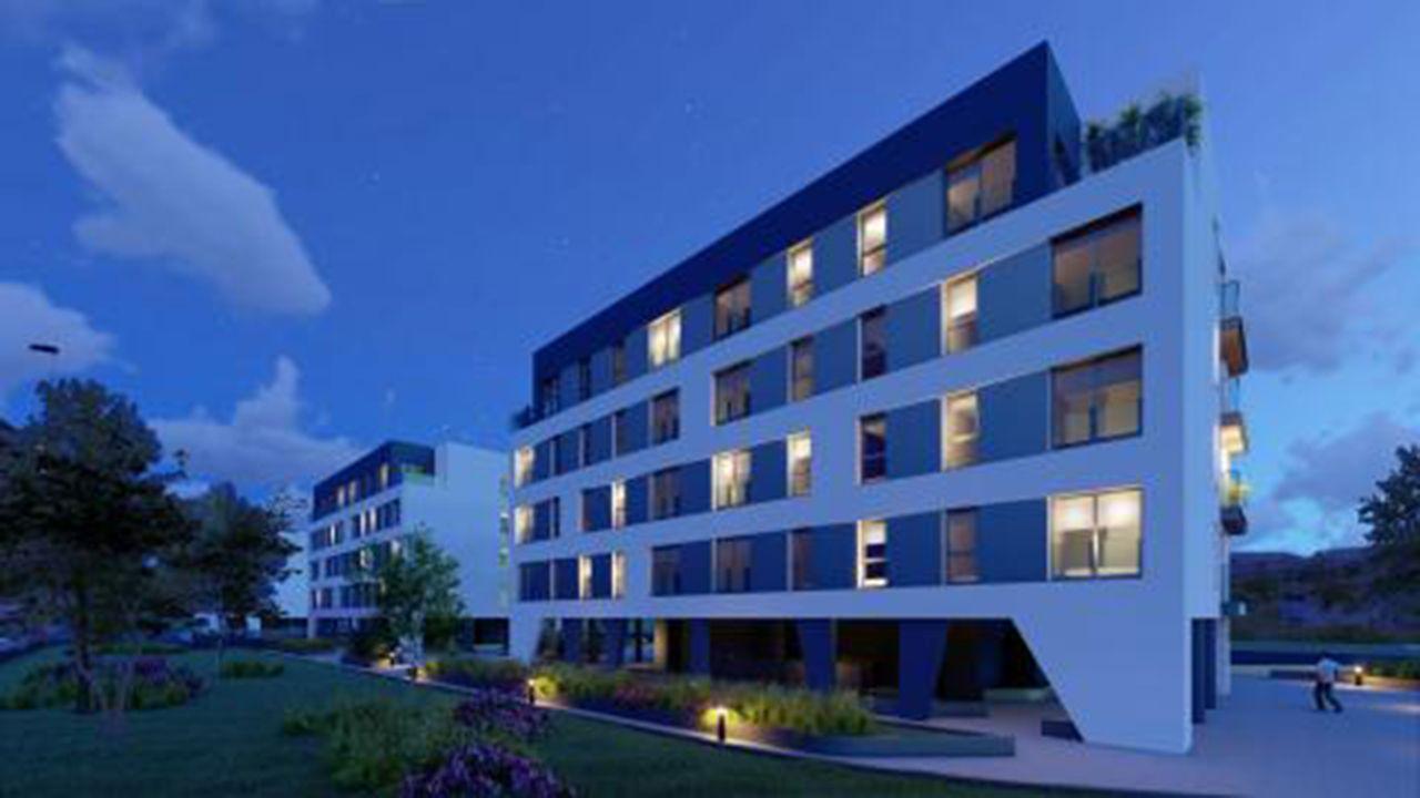 Un siglo con el mismo proceso, pero con distintos materiales.Promoción de pisos en La Florida, Oviedo
